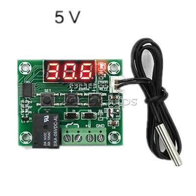 W1209 Red LED DC 5V Thermostat Temperature Switch Thermometer Controller Probe