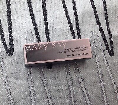 New In Box Mary Kay Nourishine Plus Lip Gloss Fancy Nancy Full Size ~Quick Ship