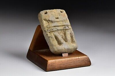 Pre Colombian Pottery Carving with Stand
