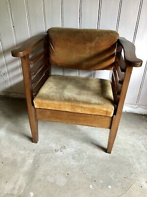 Antique Piano Stool/Small Child's Armchair Utico Stool