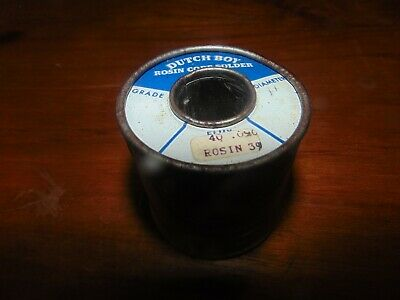 Dutch Boy 1 lb. rosin core  solder National Lead Co.