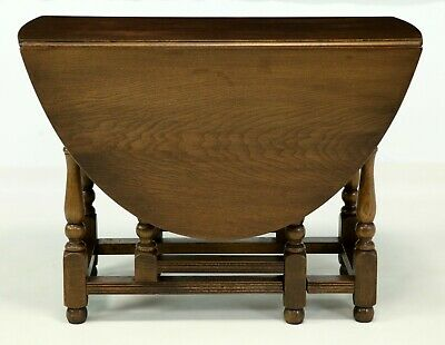 Old Charm Oak Drop Leaf Gate Leg Kitchen Dining Table FREE Nationwide Delivery