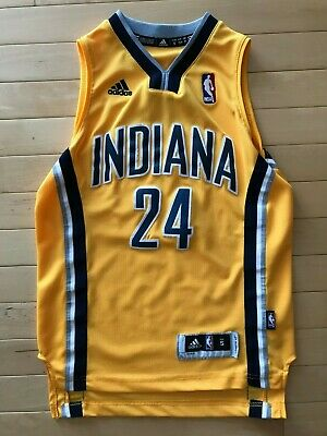 7859cd827eb71 ADIDAS SWINGMAN INDIANA Pacers Paul George Jersey Womens Sz M ...