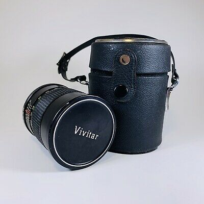 Vivitar Auto Telephoto 135mm F2.8 135/2.8 Manual Lens With Case