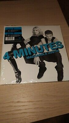 "madonna 4 minutes/give it to me rare 7"" doppio sealed"