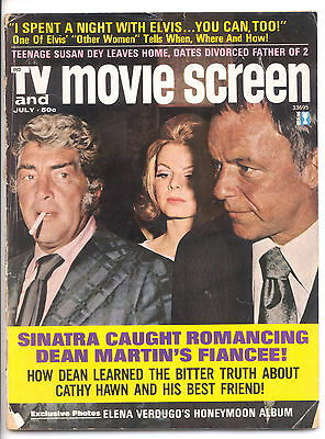 TV AND MOVIE SCREEN  July 1972 (7/72) - Complete Issue