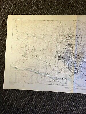 Vintage USGS Butte Montana 1904 Topographic Map 1926