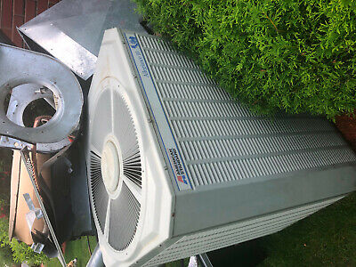 two Central Air conditioner condenser and coil 5 ton and 3 ton