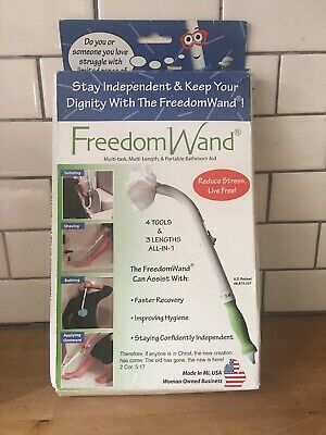 Personal Hygiene and Bathroom Aid Toilet Tissue Tool  Freedom Wand