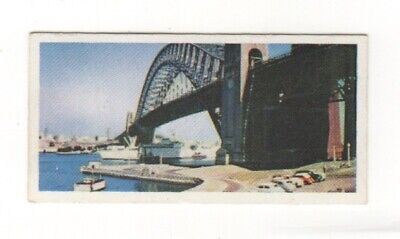 Australian tea trade card  1959 - Sydney Harbour Bridge