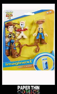 Disney Pixar Toy Story 4 Imaginext: Forky & Woody