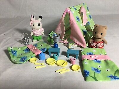 Calico critters/sylvanian families Best Friends Camping Set With Tent