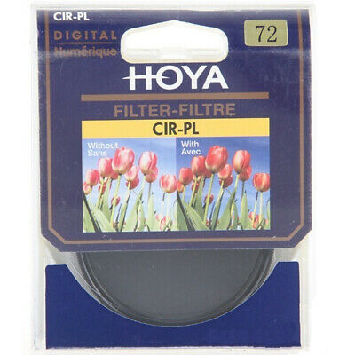 Genuine Hoya 72mm Circular Polarizing CIR-PL CPL FILTER Polariser for Lenses
