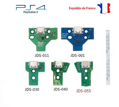 Connecteur de charge  manette PS4 JDS001 JDS011 JDS030 JDS040 JDS055 + nappe