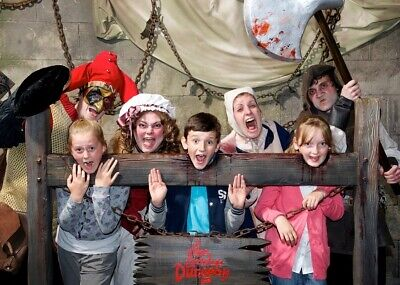 London Dungeon Tickets X2 23/07/2019 Time 15:30