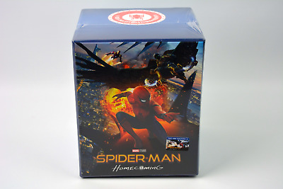 Spider-Man Homecoming Blu-ray Steelbook Collector's Maniacs Box Set Filmarena