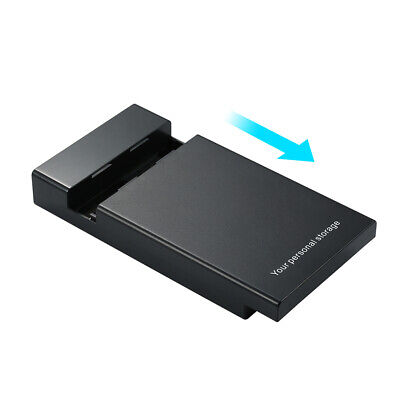 New 2.5/3.5inch Hdd Enclosure Usb3.0 To Sata External Hard Driver Case Worthy