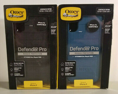 """NEW Rugged Case by Otterbox Defender PRO for 5.8"""" iPhone Xs & X - MULTI-COLOR"""