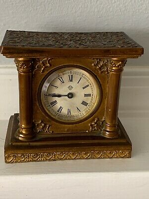 Antique Brass ANSONIA Clock