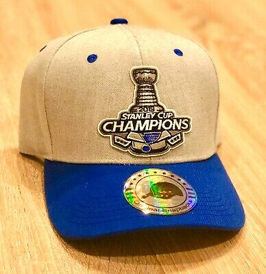2019 St. Louis Blues Stanley Cup Hat Cap Champions NHL Embroidered Patch Champs