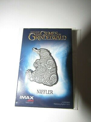 Wizarding World Fantastic Beasts the Crimes of Grindewald Niffler IMAX AMC Pin