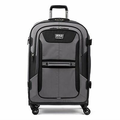 "Travelpro Bold 26"" Expandable Spinner Suitcase - Grey Black - 412156605"