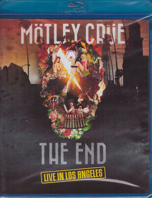 Mötley Crüe : The End - Live in Los Angeles Blu-ray NEW Motley Crue