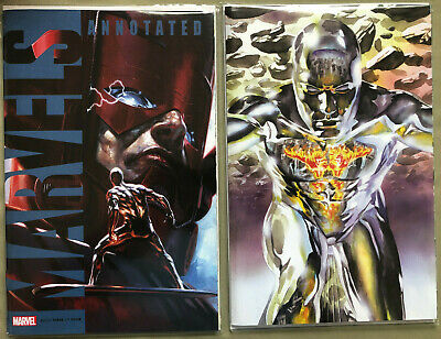 Marvels Annotated #3 NM SET, Ross VIRGIN + Dell'Otto Variants!!