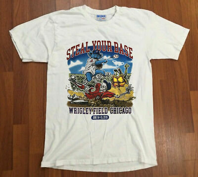 Dead and Company 2019 Wrigley Field Concert T Shirt Grateful Dead Chicago Cubs..