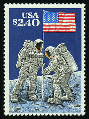 US #2419 $2.40 Moon Landing Priority Mail VF NH MNH