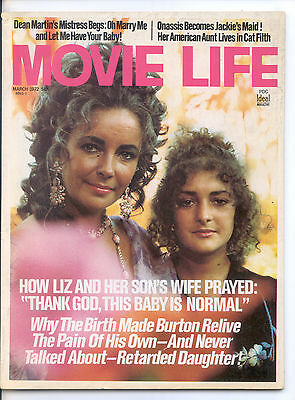 MOVIE LIFE  March 1972 (3/72) - Complete Issue
