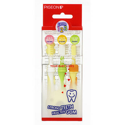 NEW Pigeon Toothbrush Kit Training Oral Care Dental Care Toothbrushes