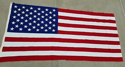 AMERICAN FLAG FLOWN OVER US CAPITAL in 1988 With Certificate Of Authenticity