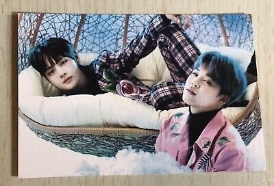 BTS Unit V Taehyung Jimin Official Wings Tour Mini Photocard Ver 2, #2 Bangtan