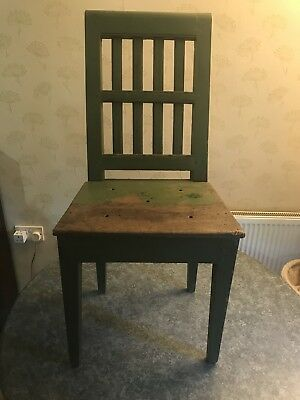 19th CENTURY INDIAN SIDE CHAIRS SLATTED BACK IN COMPLETE ORIGINAL CONDITION
