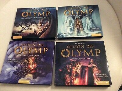 new style low priced separation shoes HELDEN DES OLYMP, Rick Riordan, Band 1 bis 5, Zustand ...