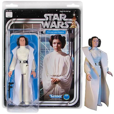 "STAR WARS - PRINCESS LEIA ORGANA 12"" Action Figure Jumbo Kenner GENTLE GIANT"