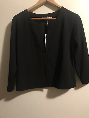 Queen Mum maternity 3/4 Sleeve Jacket Large