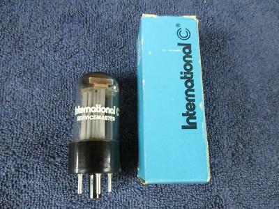 5Y3GT Rectifier Tube International Servicemaster 4 Pin Type NOS NIB
