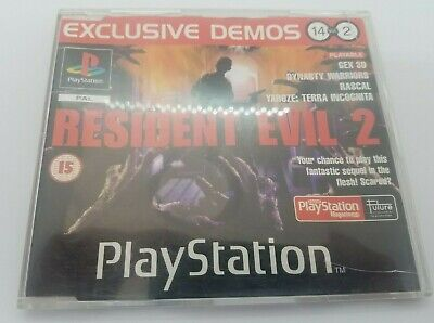 Official UK Playstation Magazine April 1998 Resident Evil 2 Demo PS1 NO 14 VOL2