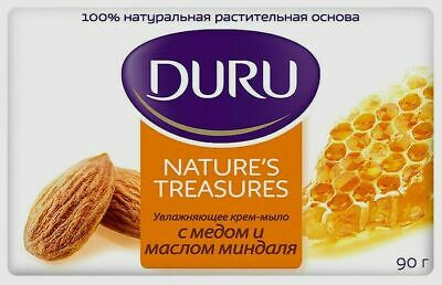 Duru Nature's Treasures soap WITH HONEY AND ALMOND OIL 90g