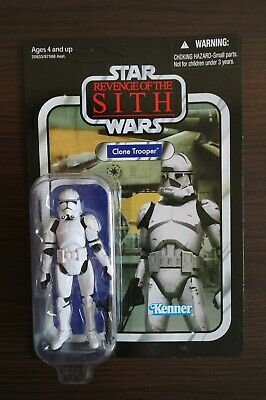 Star Wars Vintage Collection Clone Trooper (VC15) Unpunched Hasbro