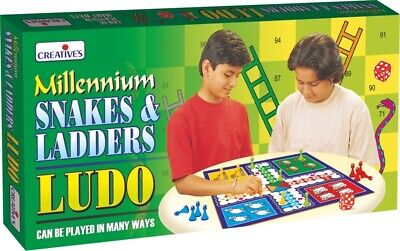 CRE0821 - Creative Games - Millennium Ludo, Snakes and Ladders