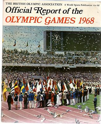 The British Olympic Association. Official Report of the Olympic Games 1968. XIXt