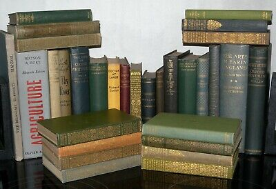 30 Various Colour Hardback Books, Perfect for Display - Wedding Decoration Etc