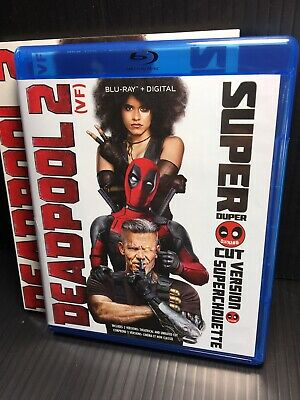 Deadpool 2 1-disc 2018 Blu-Ray Only Open Good Slipcover Theatrical cut only