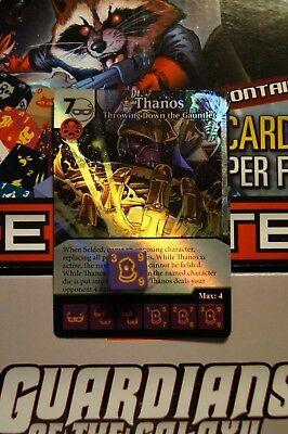 Dice Masters Guardians of the Galaxy - #075 Thanos - Uncommon FOIL