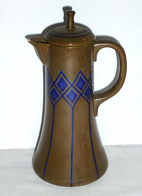 Waechtersbach Christian Neureuther Art Nouveau Jugendstil Chocolate Syrup Pot