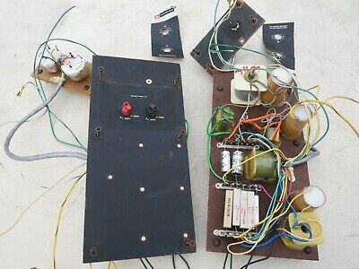 JBL SPEAKER CROSSOVER PAIR DIVIDING NETWORK REMOVED FROM 4313 8 ohm