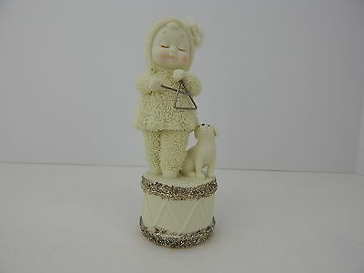 Dept 56 Snowbabies SnowDream Merry Music Maker Triangle #4024882 Never Displayed